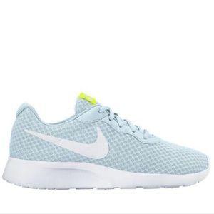 • Nike Sneaker Shoe Running Blue White Tanjun 10